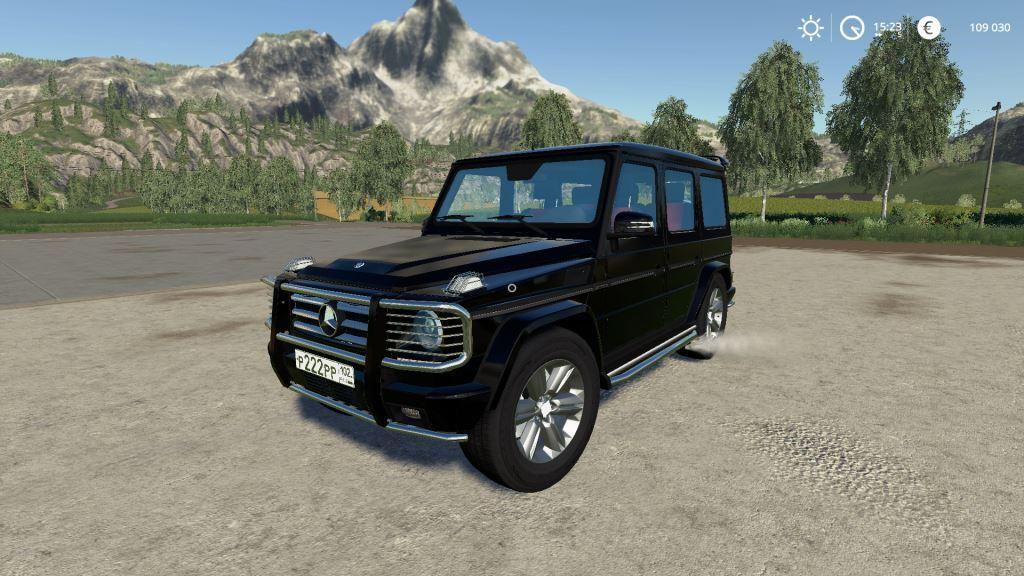 Mercedes-Benz G55 AMG for Farming Simulator 2019