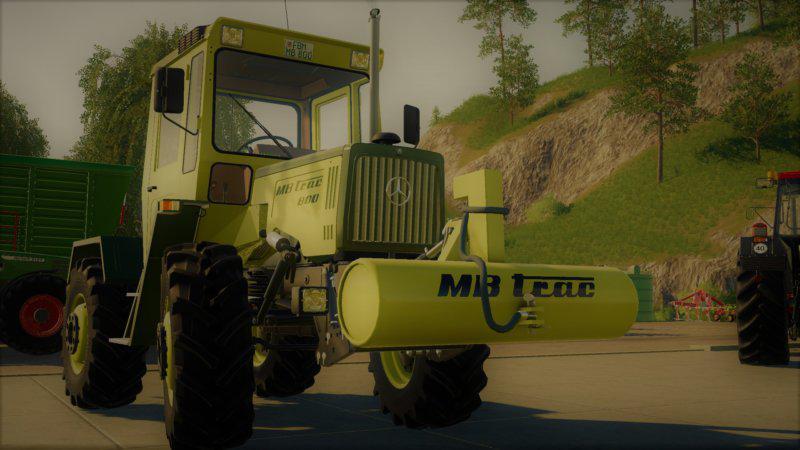 MB Trac Weight V1.2.0 for Farming Simulator 2019