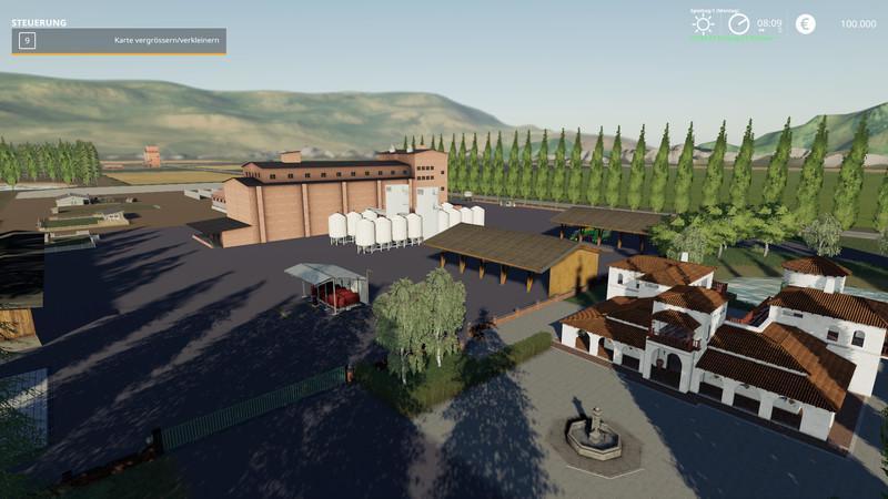 Dondiego Map V2.0.1 for Farming Simulator 2019