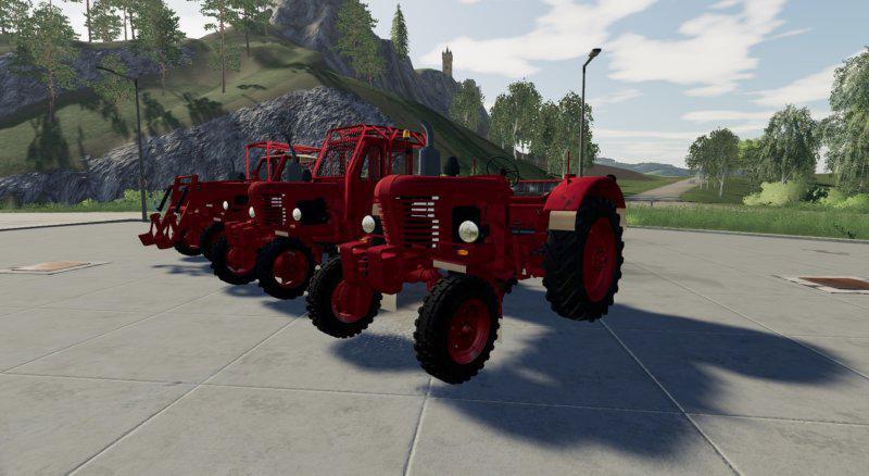 MTZ 50-52 for Farming Simulator 2019