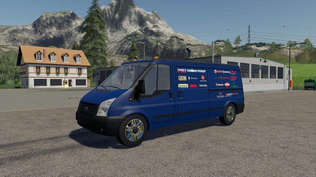 Lizard Rumbler Van V1.1 for Farming Simulator 2019