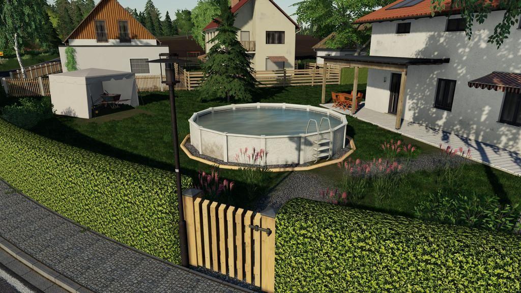 Swimmingpool For Decoration V1.1 for Farming Simulator 2019