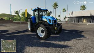 New Holland 7550 bygoli 1