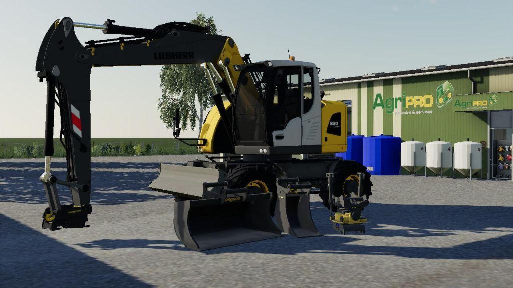 Liebherr 918 & 920 for Farming Simulator 2019