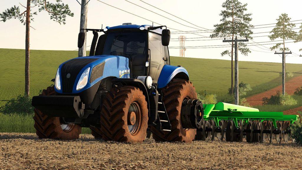 New Holland T8 BR for Farming Simulator 2019