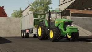 JOHN DEERE 8000/8010 SERIES US V1.1 for Farming Simulator 2019