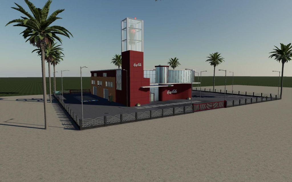 Coca Cola Factory for Farming Simulator 2019