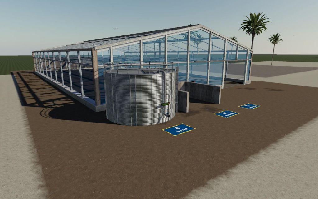 Coffee Bean Greenhouse for Farming Simulator 2019
