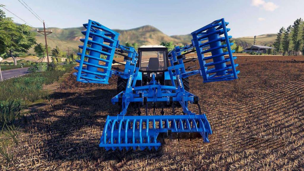 Cultivator Liborto 4.2M for Farming Simulator 2019