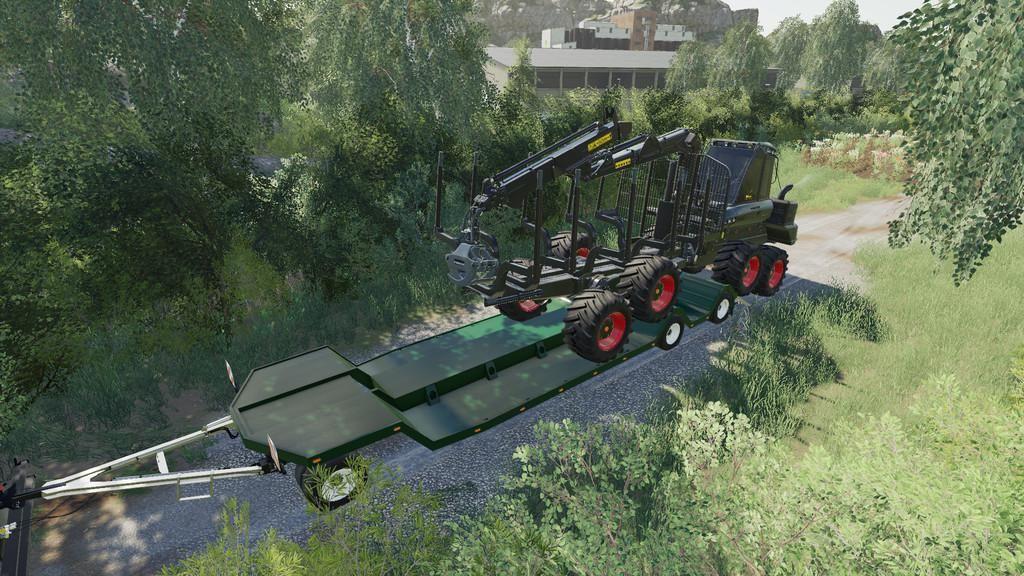 HJM Special Lowloader TL38 V1.1 for Farming Simulator 2019