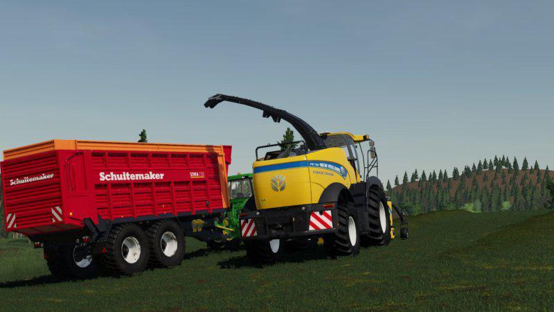New Holland FR 780 (manual pipe) for Farming Simulator 2019