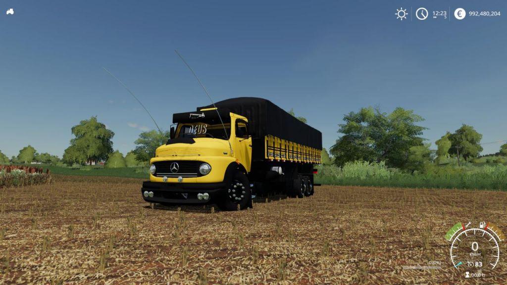 Mercedes Benz 1513 for Farming Simulator 2019