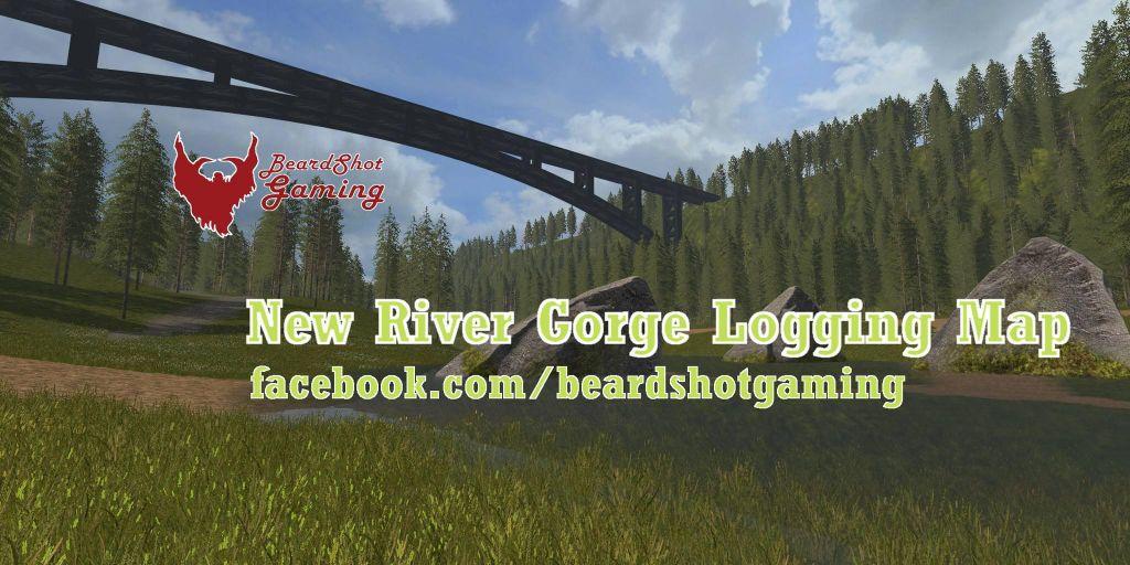 New River Gorge Logging Map V1.1 for Farming Simulator 2019