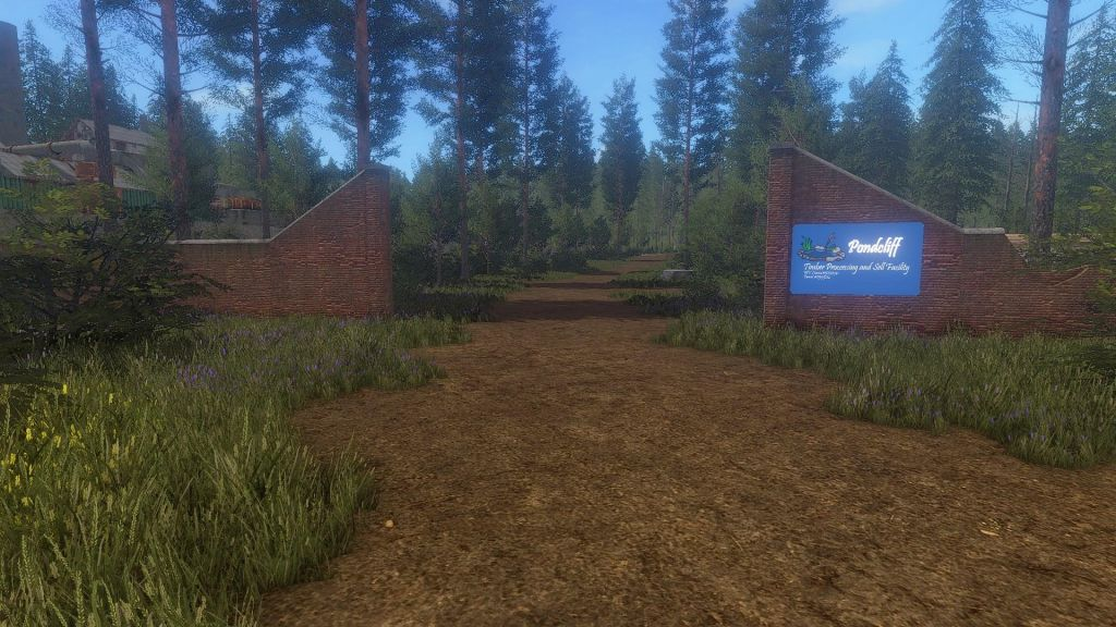 Pondcliff Logging Map v1.1 for Farming Simulator 2019