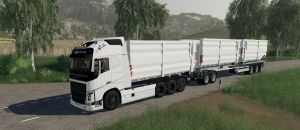 Volvo FH16 2019 HKL for Farming Simulator 2019