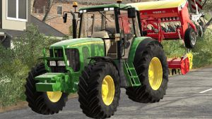 John Deere 6020SE (STANDARD) for Farming Simulator 2019