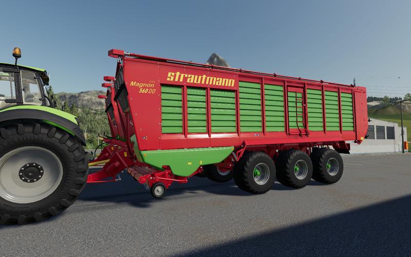 Strautmann Magnon 560 DO for Farming Simulator 2019