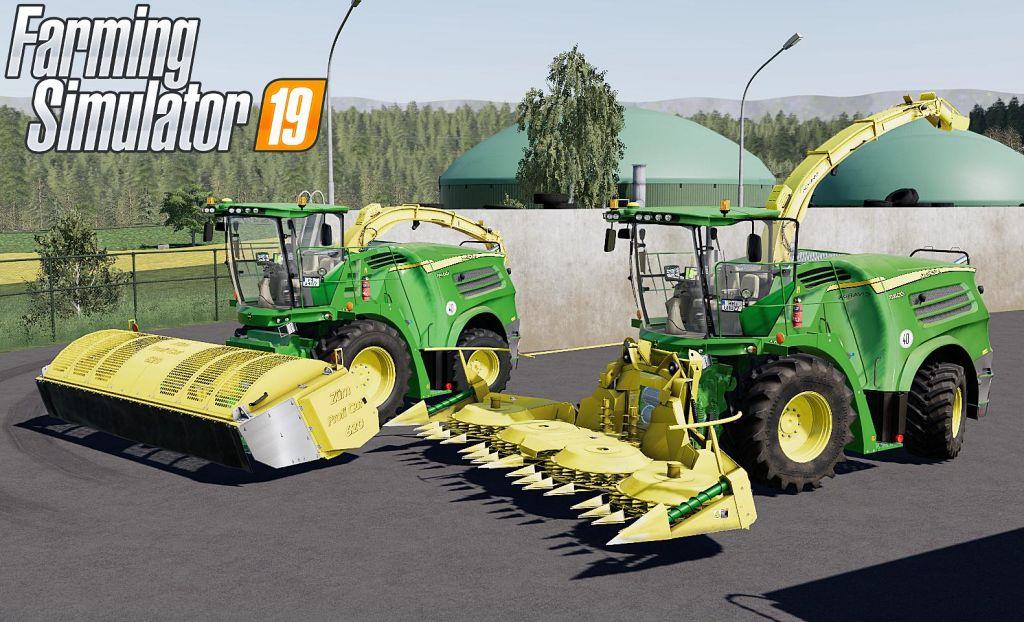 John Deere 8000i Series V2.0 for Farming Simulator 2019