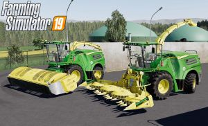 John Deere 8000i Series V2.0 for Farming Simulator 2019