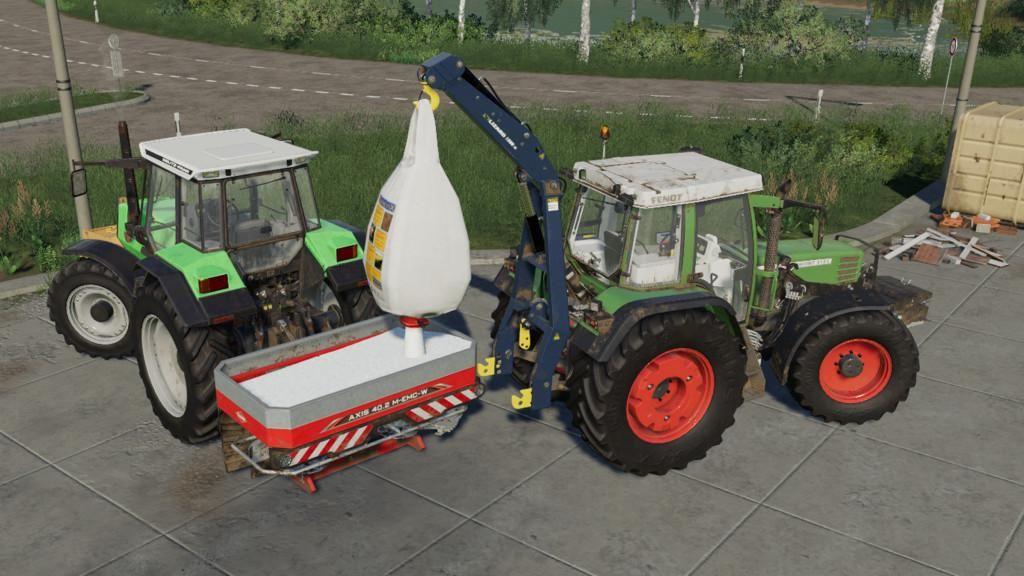 Kuhn Axis 402 Plus Pack V1.0.0.2 for Farming Simulator 2019