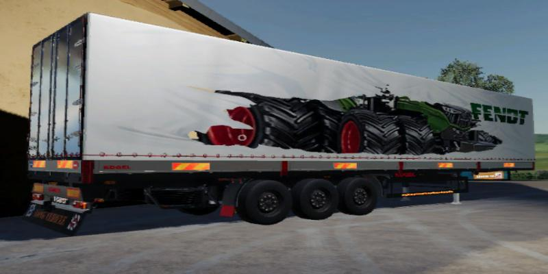 TRAILER autoload multiple FENDT V1.5 for Farming Simulator 2019