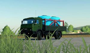 Kamaz MUSTANG 4X4 V1.1 for Farming Simulator 2019