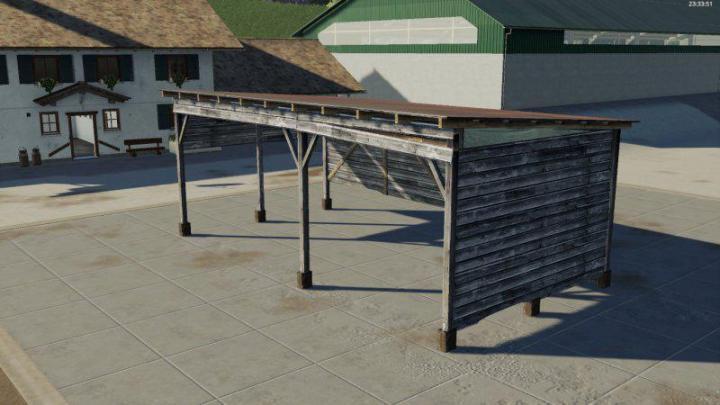 Placeable Shelter V1.1 for Farming Simulator 2019