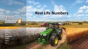 Real Life Numbers US Heartland V1.2.1.0 for Farming Simulator 2019