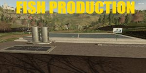 Fish Production for Farming Simulator 2019