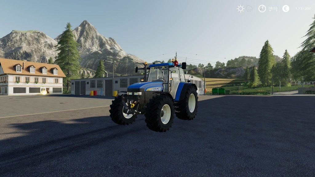 New Holland TM series Edit for Farming Simulator 2019