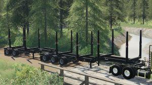 Arctic Log Trailers V2.0 for Farming Simulator 2019