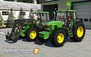 John Deere 6610 / 6810 / 6910 / 6910S for Farming Simulator 2019