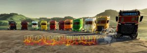 Scania R1000 Gold V2.0 1