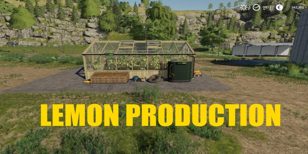 Lemon Production for Farming Simulator 2019