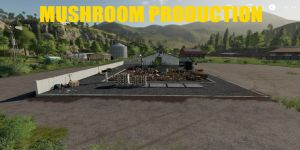 Mushroom Production for Farming Simulator 2019
