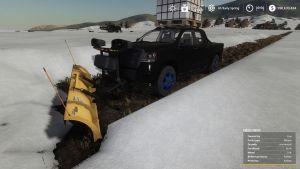 Pickup 2014 snow plow 3
