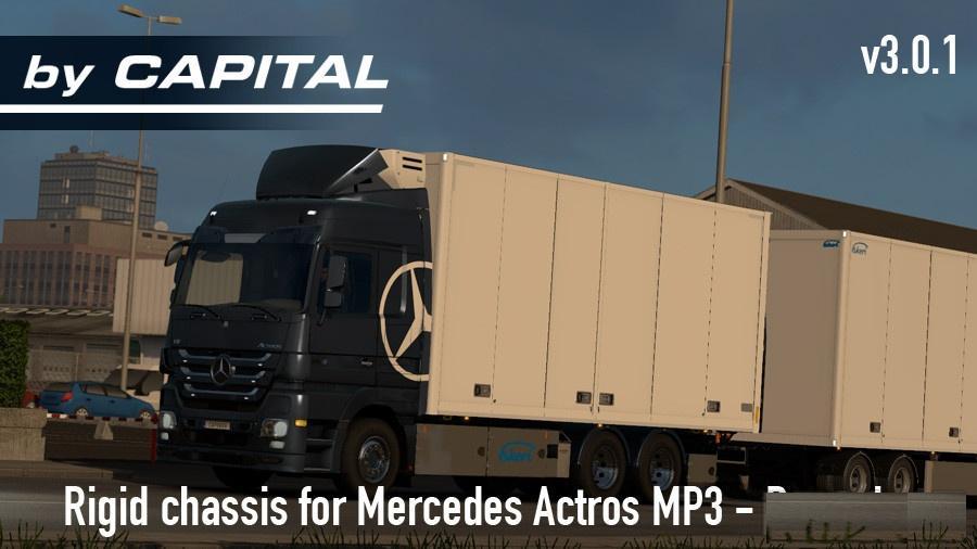 RIGID CHASSIS FOR MB MP3 & SISU POLAR MK1 BYCAPITAL V4.1.1 2