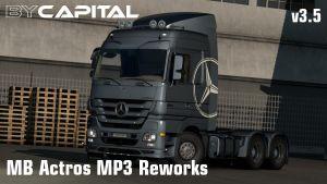 MB Actros MP3 Reworks – ByCapital V4.0.2 1.35 2