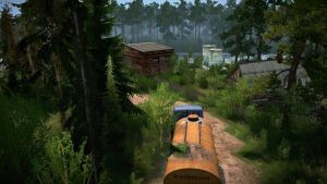 "Forestry ""Pushkino-4"" Map 3"