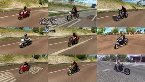 Motorcycle Traffic Pack by Jazzycat V3.7 1