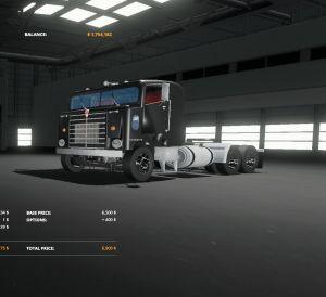 Kenworth BullNose for Farming Simulator 2019