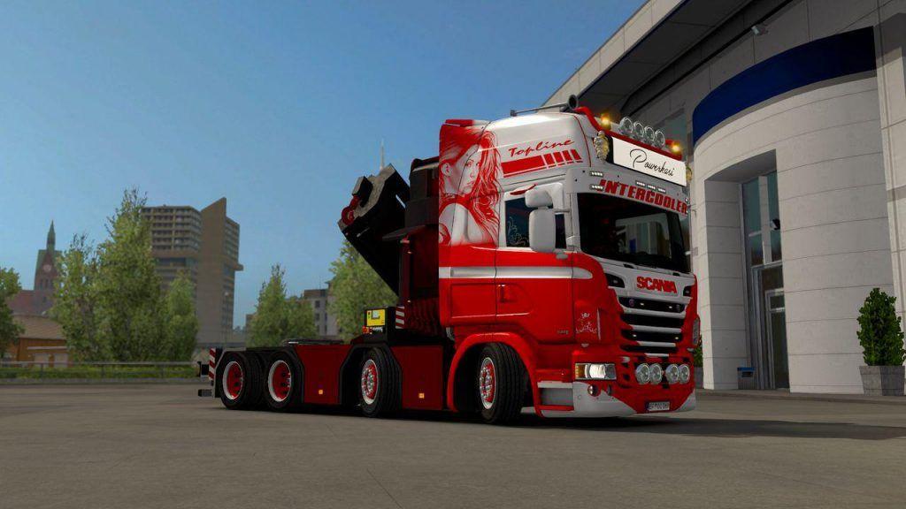 Scania Rjl Crane Mod V2.0 2