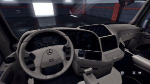Mercedes Benz Actros 2009 Lux Interior 1.35.x 1