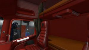 Scania T RJL Red Interior by Hubobubo 1.35.x 1