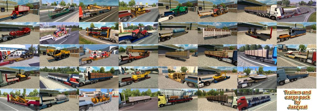 Trailers and Cargo Pack by Jazzycat V8.1 2