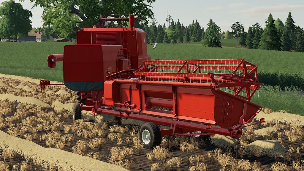 Bizon Z056 Cutter Trailer V1.0.1.0 for Farming Simulator 2019