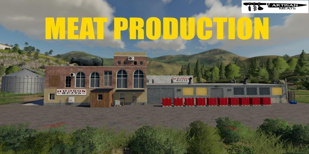 MEAT PRODUCTION V1.0.5 for Farming Simulator 2019