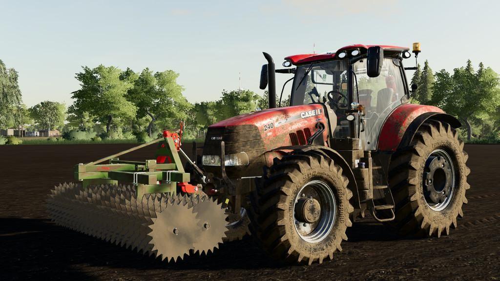 PROFI FLIEGL FRONT PACKER for Farming Simulator 2019