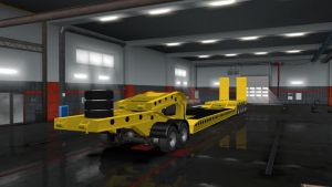 Flatbed Trailer 4 Axles V1.6 2