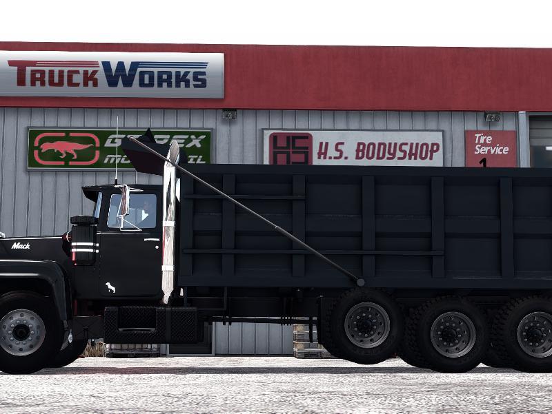 Custom Mack R Dump Truck/Flatbed Addon 2
